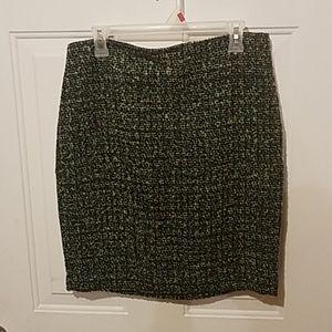 Liz Claiborne 12 petite pencil wool skirt